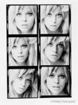 Edina Ronay Contact Sheet (large) by Philip Townsend - art