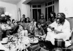 The Beatles and Maharishi Mahesh Yogi (small) by Philip Townsend - art