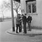 "Rolling Stones, ""smoking on the corner"", Cheyne Walk (small)"