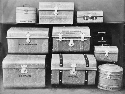 South Staffordshire Industrial and Fine Art Exhibition: Luggage Fine Art Print by unknown