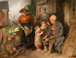 Setting off for Market, Early 19th Century Fine Art Print by English School